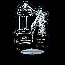 Lampe de Mineur et Chevalement - Socle Standard