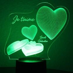 St-Valentin coeur d'amour