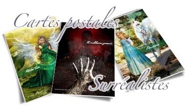 Cartes postales surréalistes